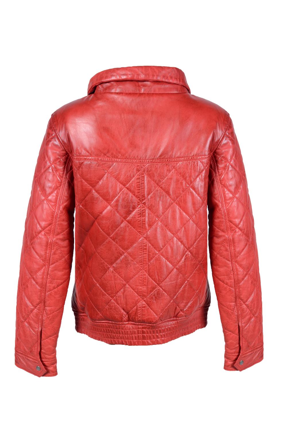 detail kožená bunda dámská zateplená 6d9386176cd