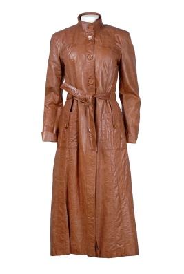 Dámské oděvy   Kožené oděvy   Pláště  3350a5e6513