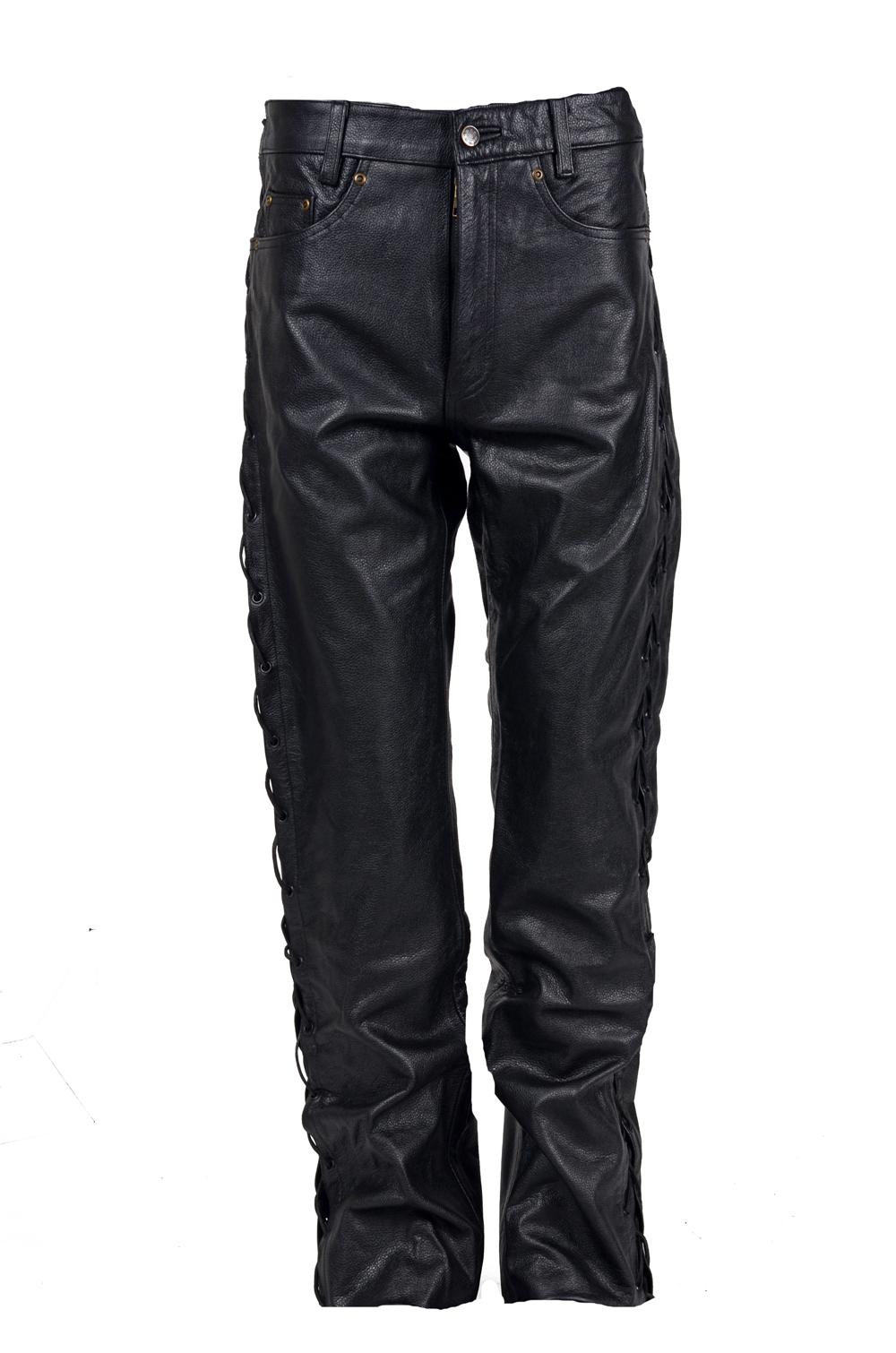 Pánské oděvy   Kožené oděvy   Kožené kalhoty  9d1d204519f